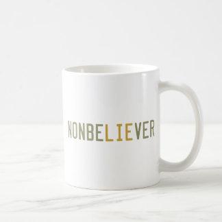NonbeLIEver Classic White Coffee Mug