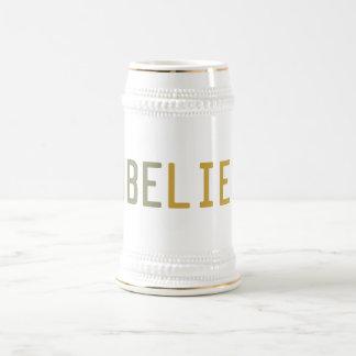 NonbeLIEver Jarra De Cerveza