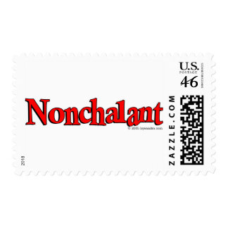 Nonchalant Postage