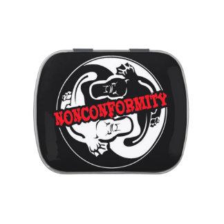 Nonconformity Platypi Yin Yang Jelly Belly Tins