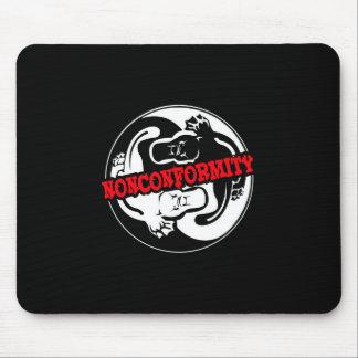 Nonconformity Platypi Yin Yang Mouse Pad