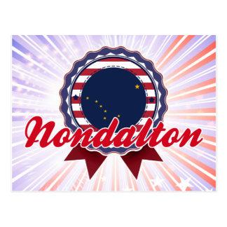Nondalton, AK Post Card