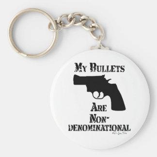 NonDenominational Bullets Keychain
