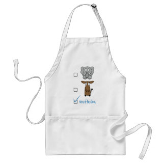 None of the Above Adult Apron