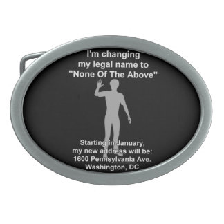 None_of_the_above Belt Buckle