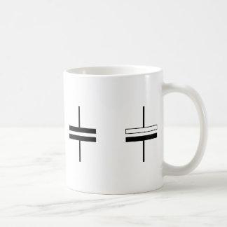 Nonelectrolytic y condensadores electrolíticos taza de café
