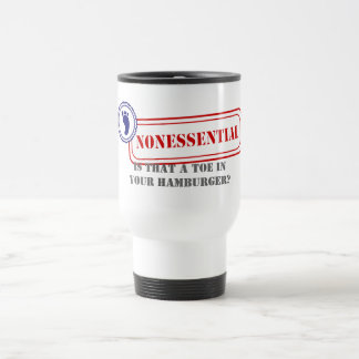 Nonessential • Food Safety Travel Mug