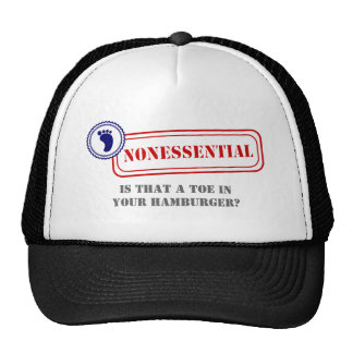 Nonessential • Food Safety Trucker Hat