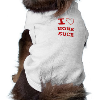 NONESUCH I heart (love) Pet Clothing