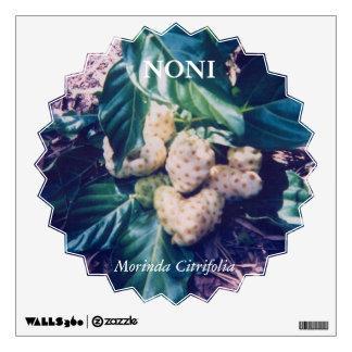Noni or Morinda Citrifolia Wall Decal