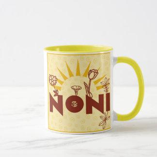 Noni Sunburst Yellow Italian Grandmother Mug Cup