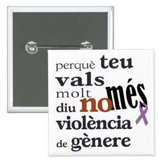 NonMonth Violència de Gènere Button