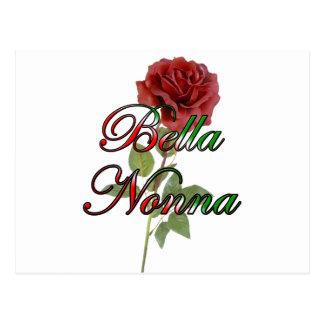 Nonna (abuela hermosa de Italain) Postal