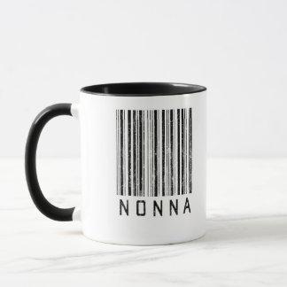 Nonna Barcode Mug