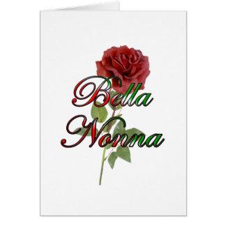 Nonna (Beautiful Italain Grandmother) Greeting Card
