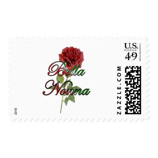 Nonna (Beautiful Italain Grandmother) Postage
