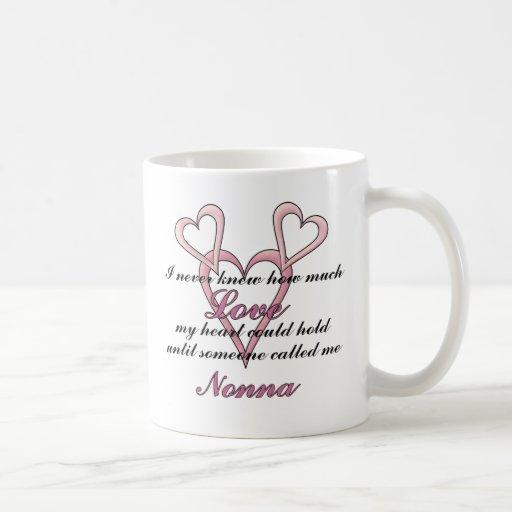 Nonna (I Never Knew) Mother's Day Mug