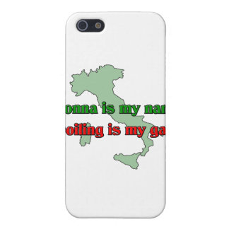 Nonna is my name. Spoiling is my game. iPhone 5 Covers