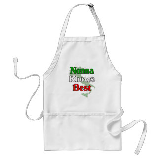 Nonna (Italian Grandmother)m Knows Best Adult Apron