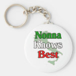 Nonna (Italian Grandmother)m Knows Best Key Chains