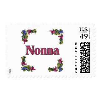 Nonna (Italian Grandmother) Postage Stamp