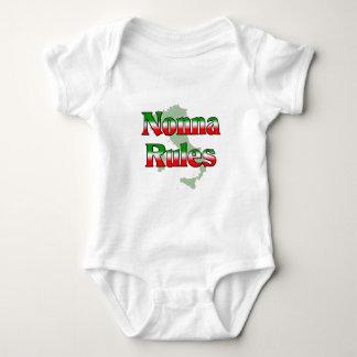 Nonna (Italian Grandmother) Rules Baby Bodysuit