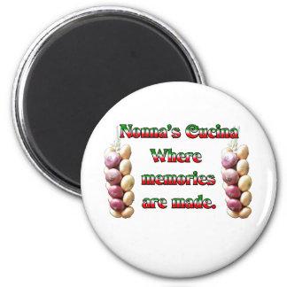 Nonna's Cucina Where Memories Are Made Magnet