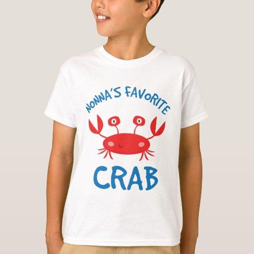 Nonnas Favorite Crab (Grandchild) T-Shirt