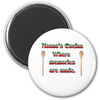 Nonna's (Italian Grandmother) Cucina... Magnet