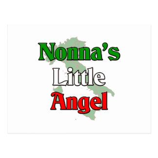 Nonna's (Italian Grandmother) Little Angel Postcard