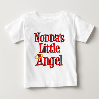 Nonna's Little Angel Baby T-Shirt