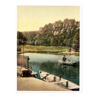 Nonnenfelsen, Zittau, Saxony, Germany magnificent Postcard