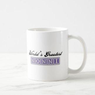 Nonni más grande del mundo taza clásica