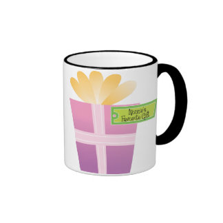 Nonnie's Favorite Gift Ringer Coffee Mug