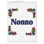 Nonno (abuelo italiano) tarjetas