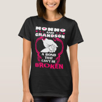 Nonno And Grandson Bond That Cant Be Broken T-Shirt