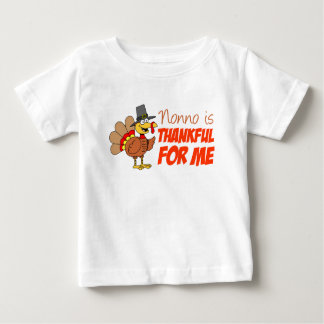 Nonno Is Thankful For Me Baby T-Shirt