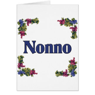 Nonno (Italian Grandfather) Card