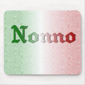 Nonno Italian Grandfather Flag Mousepad
