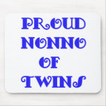 Nonno of_Twins Mouse Pad