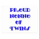 Nonno of_Twins Postcard