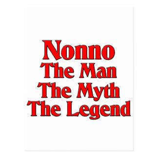 Nonno The Man The Myth The Legend Postcard