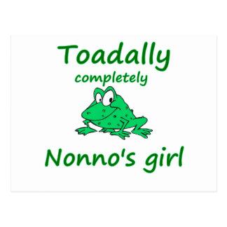 nonno's girl postcard