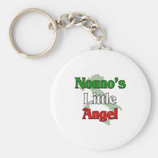 Nonno's (Italian Grandfather) Little Angel Keychain