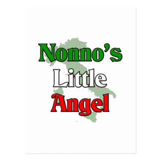 Nonno's (Italian Grandfather) Little Angel Postcard