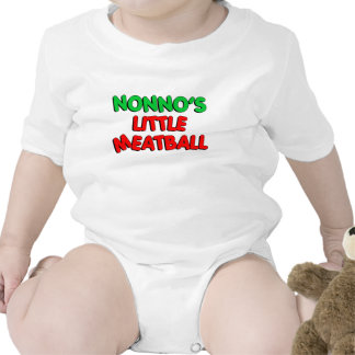 Nonno's Little Meatball Baby Bodysuits