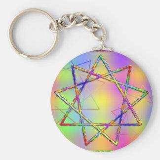 Nonogram Chakra Key Chain