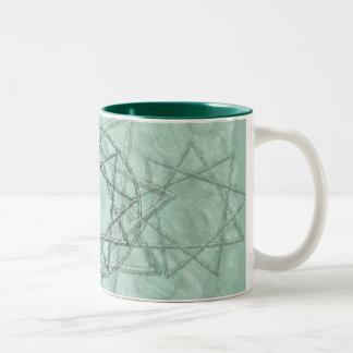 Nonogram Stone Drinkware Two-Tone Coffee Mug
