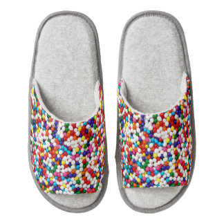 Nonpareils Slippers Pair Of Open Toe Slippers