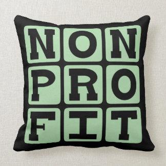 Nonprofit, Organization Designation Pillows
